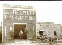 Geo. Bedwell Blacksmithing Building